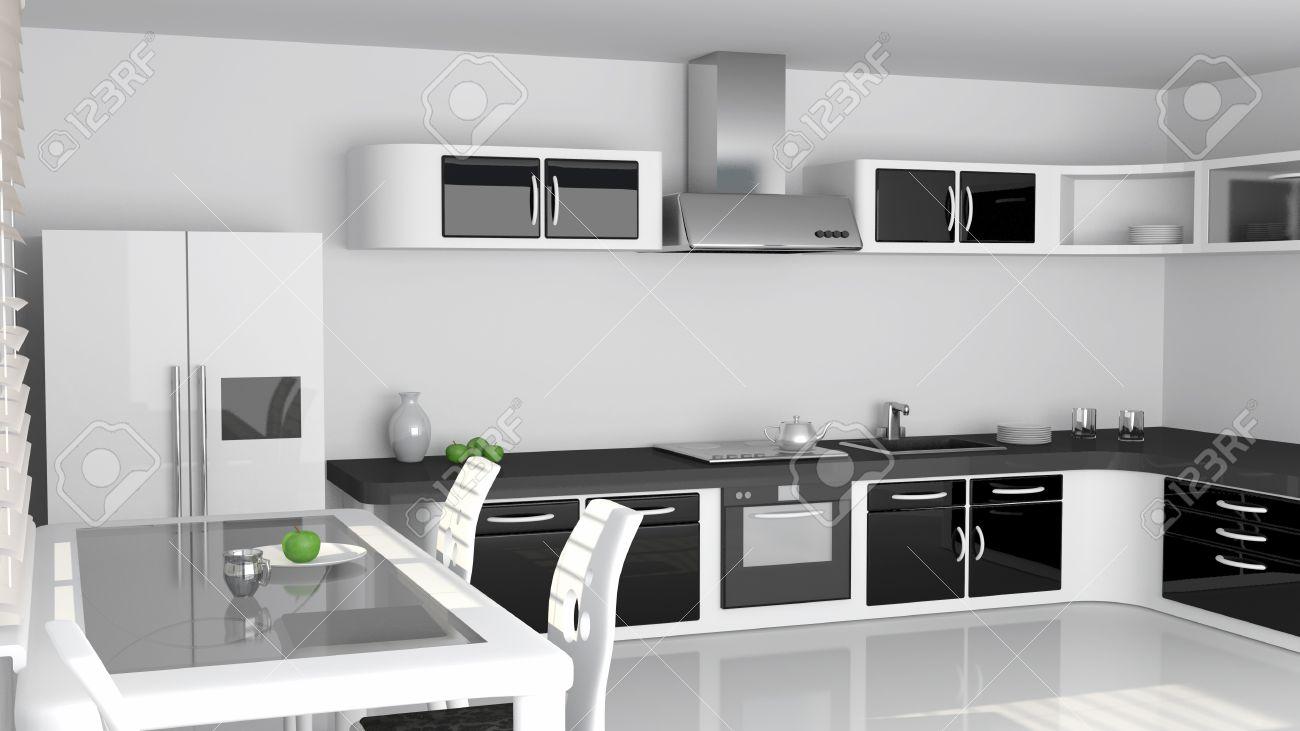 Carrelage Cuisine Noir Et Blanc faience cuisine moderne   faience cuisine moderne with