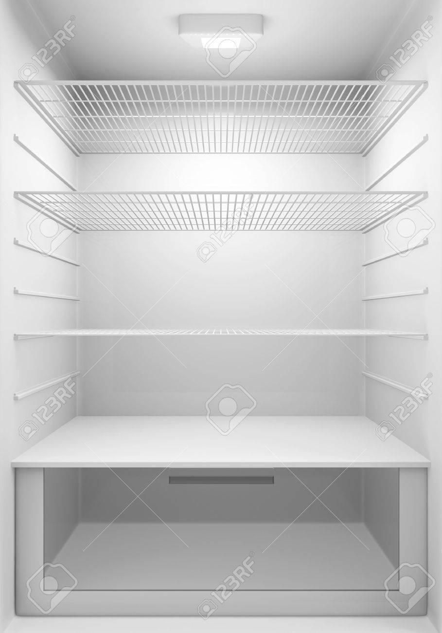 refrigerator inside. inside view of an empty modern fridge stock photo - 27227679 refrigerator