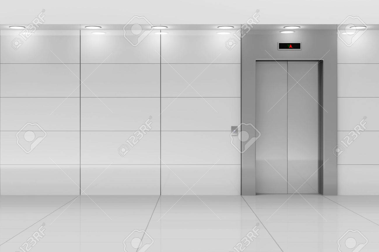 people in elevator clipart. modern elevator hall interior people in clipart l