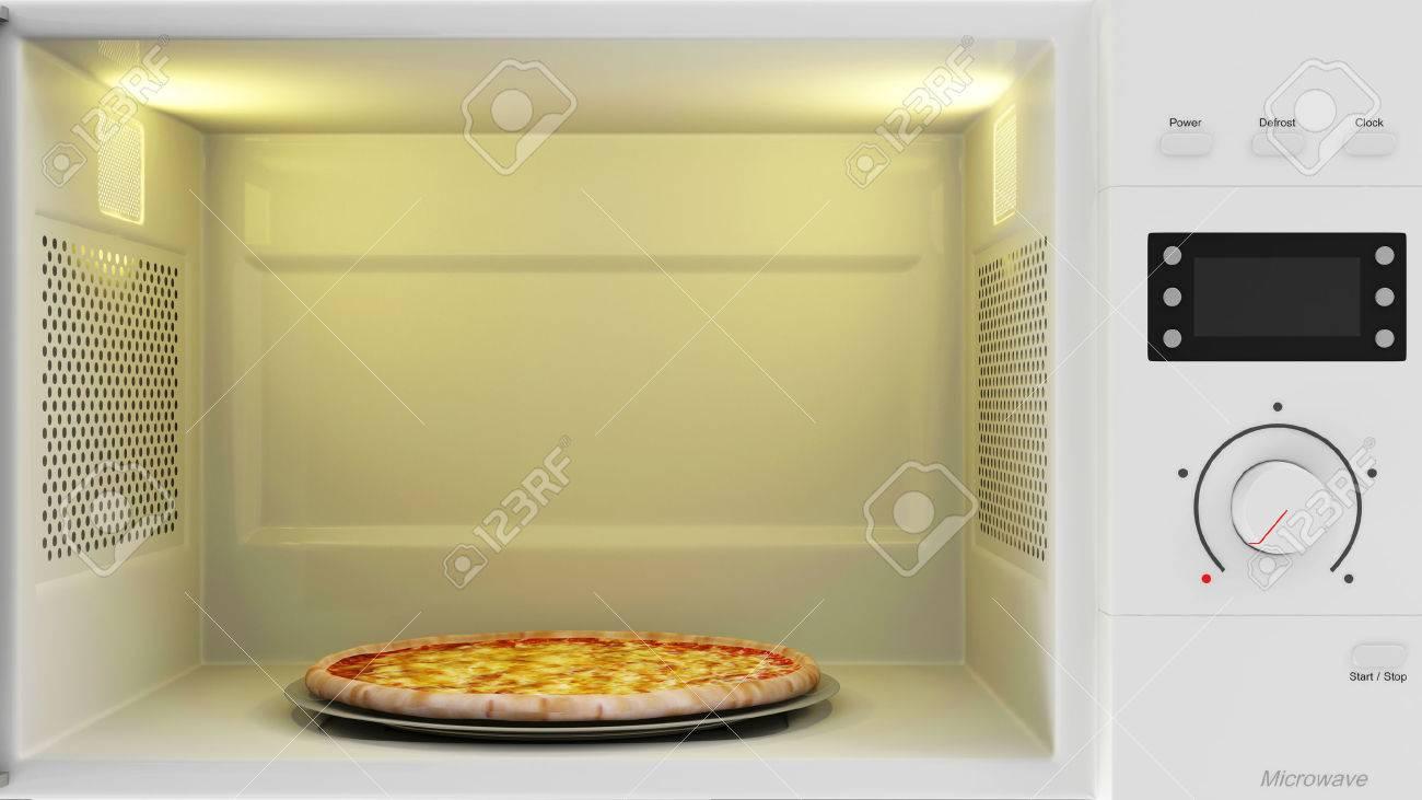 banque dimages la prparation des aliments concept plan rapproch vue de lopen four avec pizza intrieur - Four A Pizza Interieur