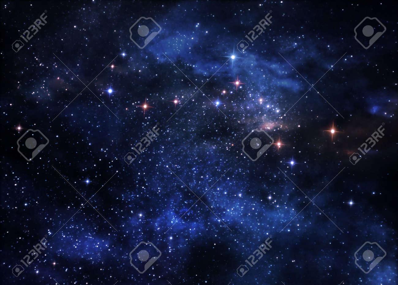 Deep space nebulae - 7614237