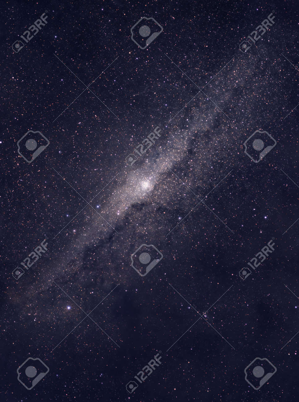 Distant galaxy located somewhere in deep space - 15426442