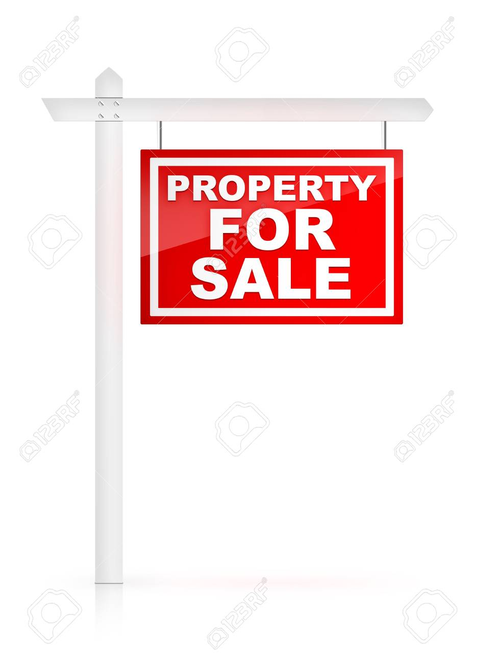 Property For Sale - Real Estate Tablet Stock Photo - 4913112