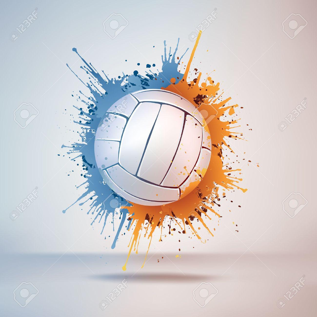 Volleyball Ball Stock Vector - 10351844