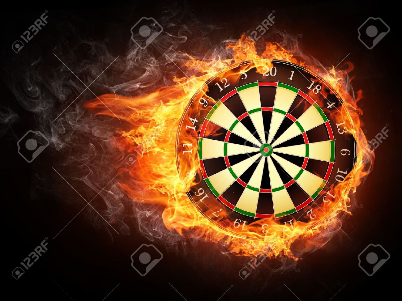 darts board stock photo picture and royalty free image image 10937615