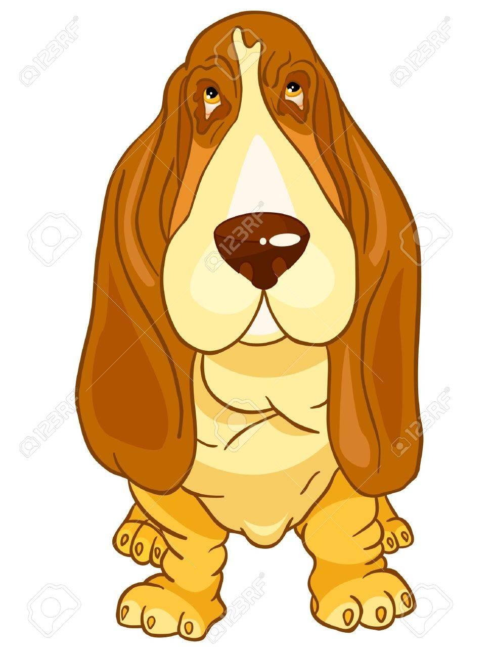 Cartoon Character Dog Stock Vector - 11160145