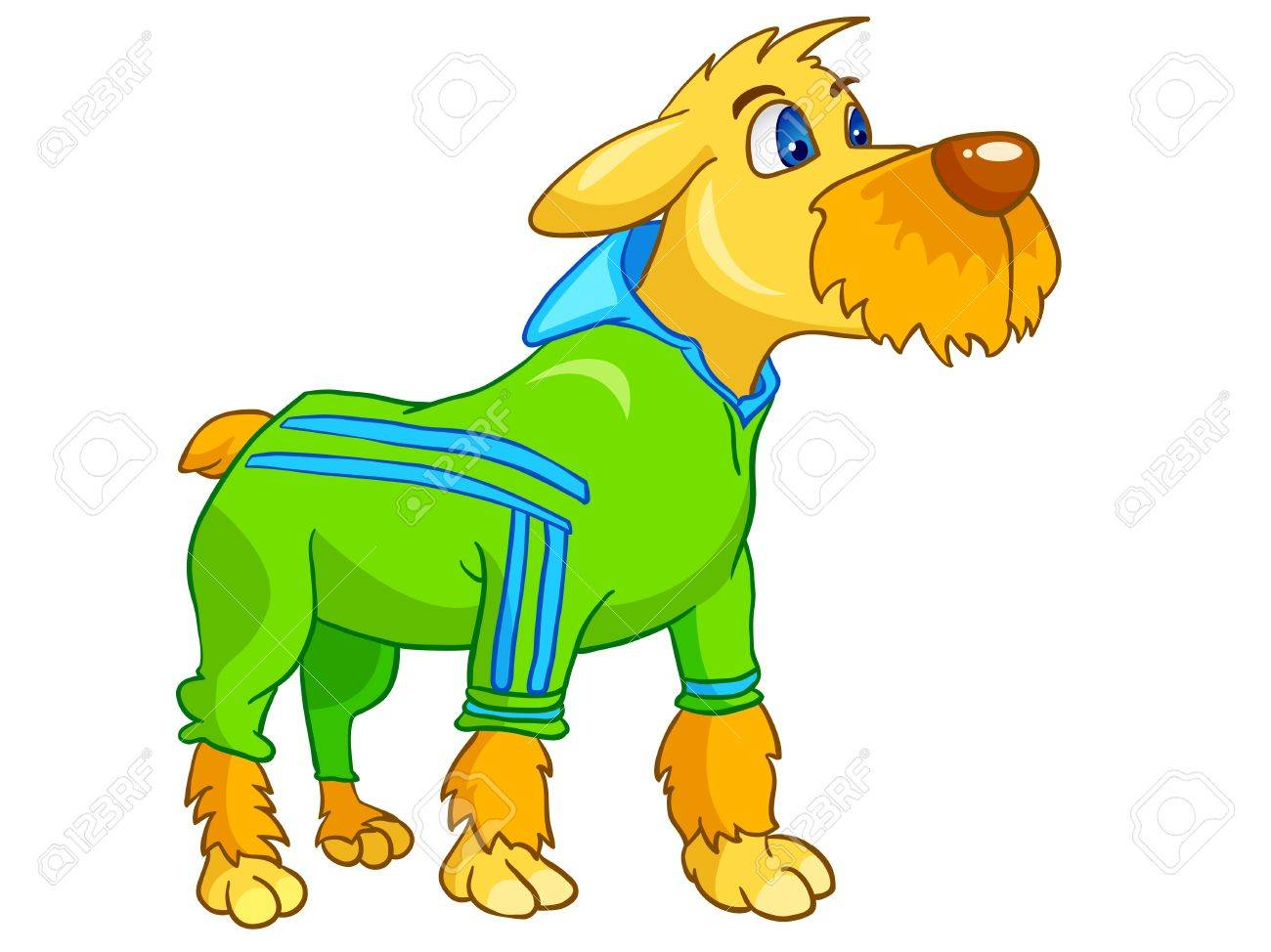 Cartoon Character Dog Stock Vector - 11235103