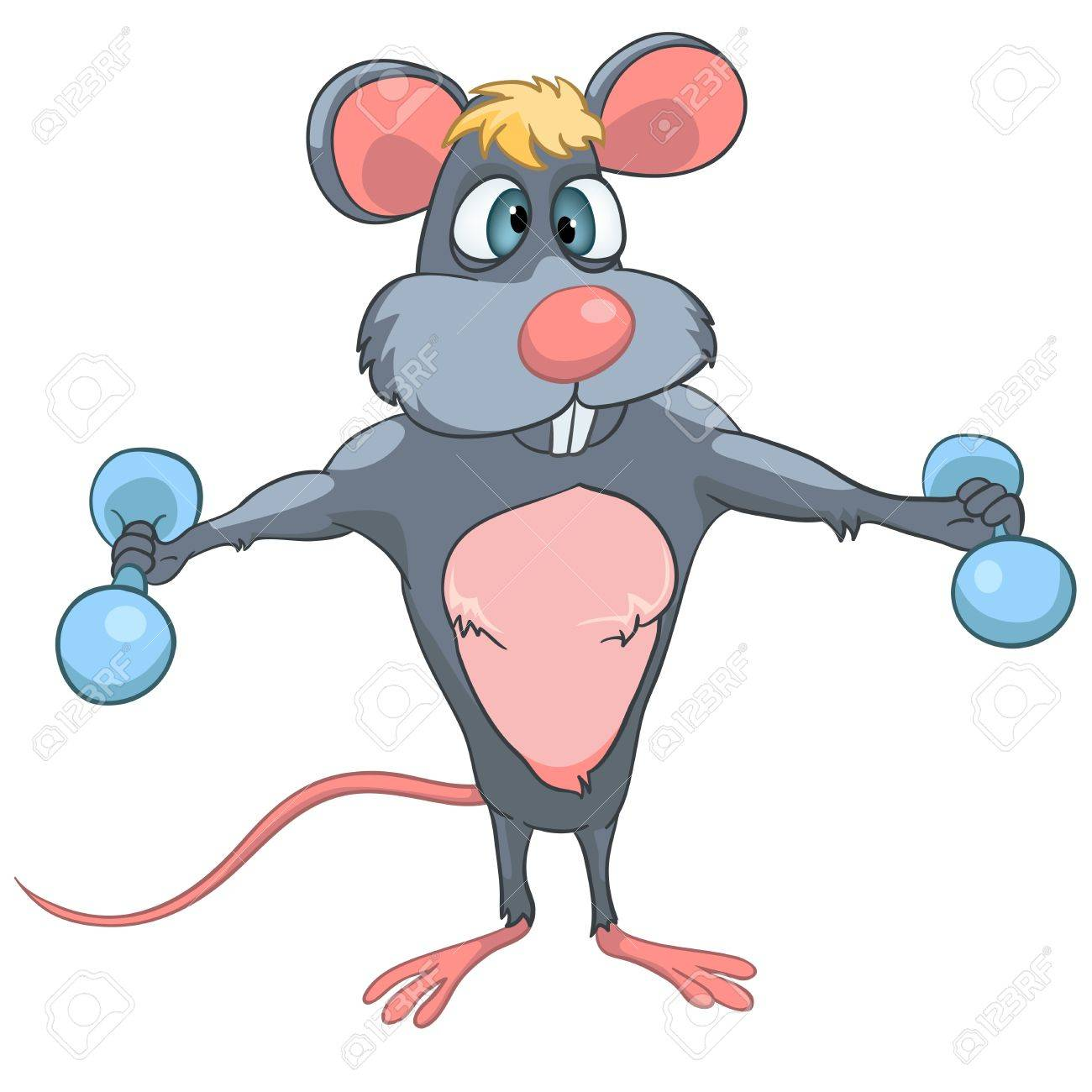 Cartoon Character Mouse Stock Vector - 11929362
