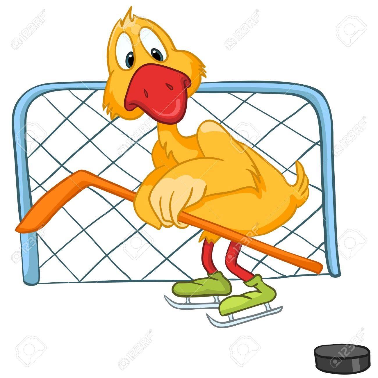 Cartoon Character Goose Stock Vector - 11929367