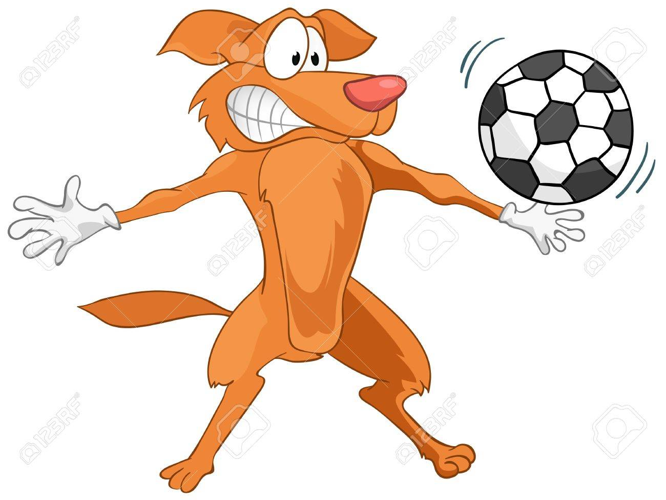 Cartoon Character Dog Stock Vector - 11929413