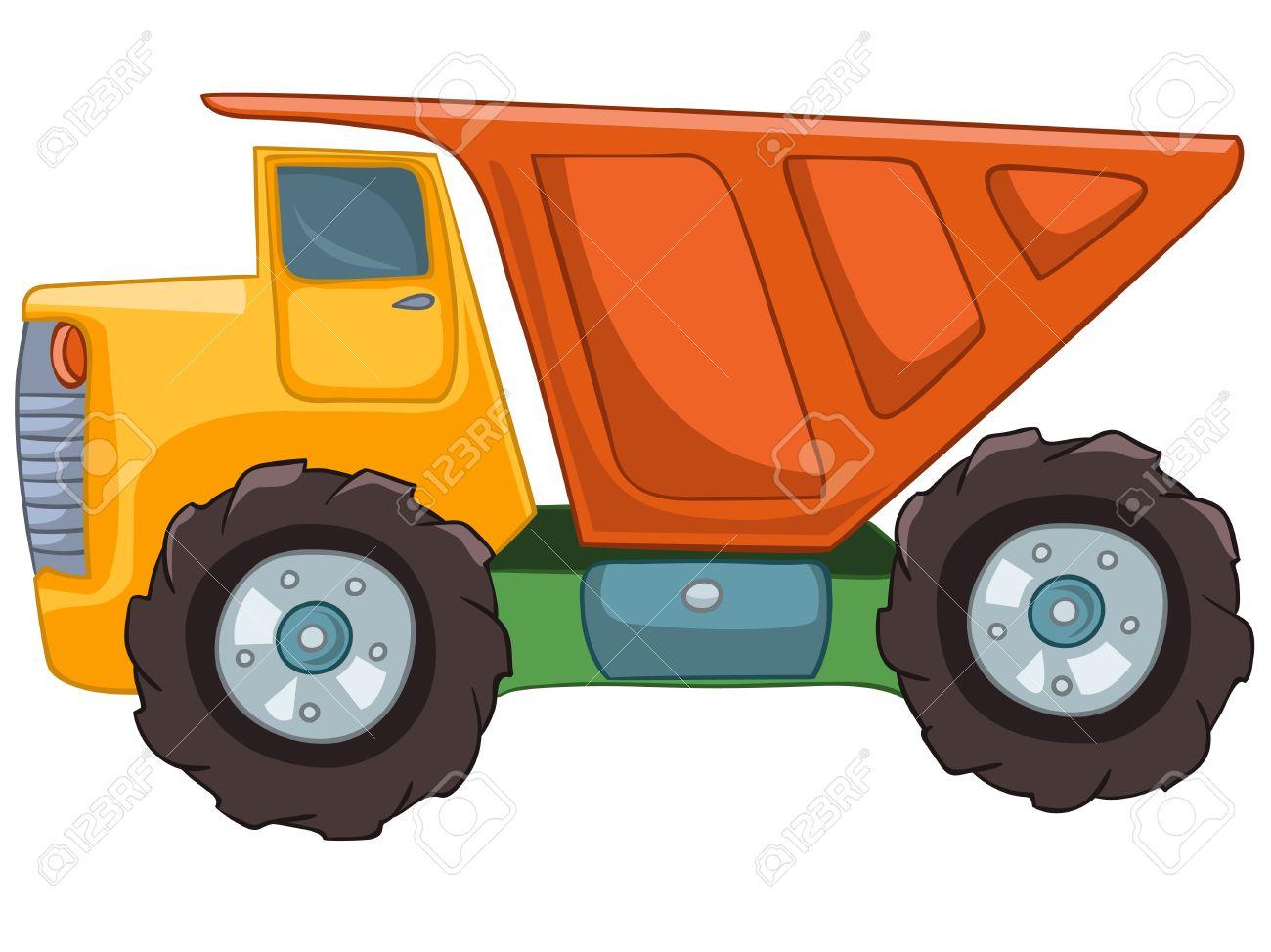 Cartoon Truck Stock Vector - 12043691