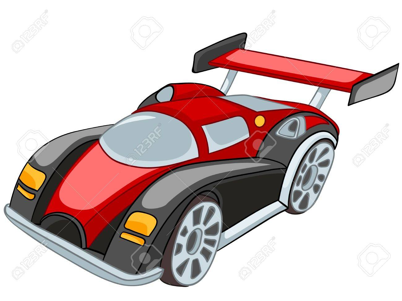 cartoon car stock vector 12137196