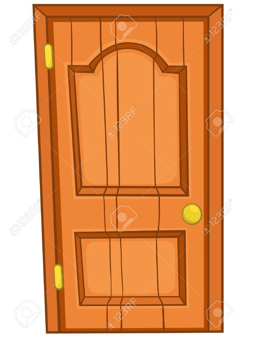 puerta principal puerta principal de dibujos animados