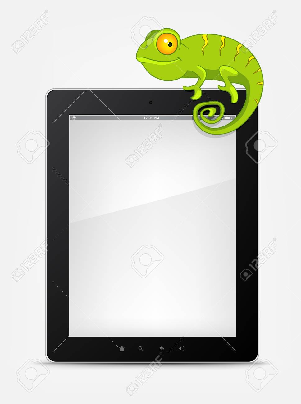 Set of Tablet PC Stock Vector - 12372310