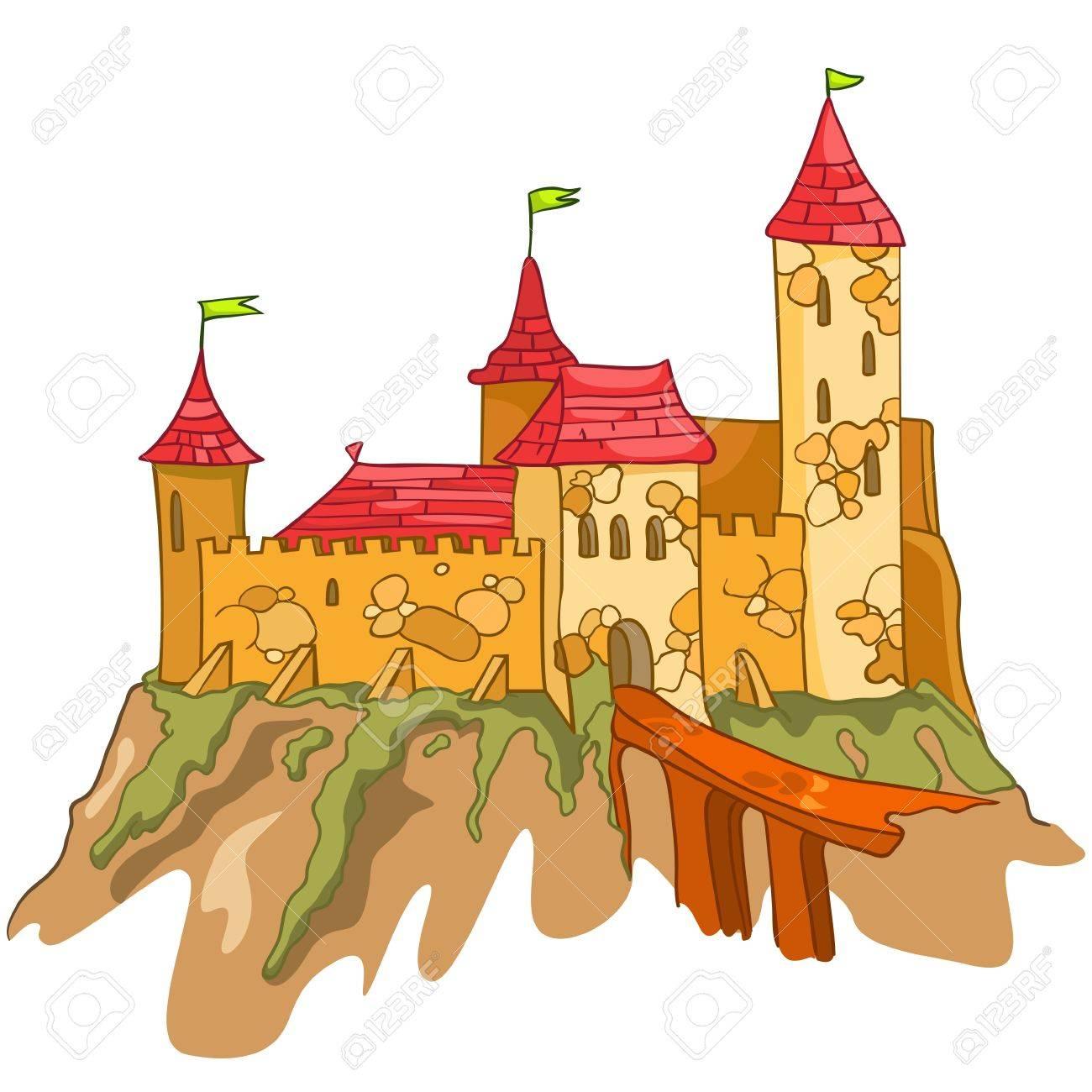 Cartoon Castle Stock Vector - 12491859