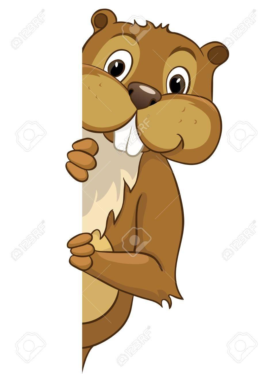 Beaver CREES Stock Vector - 12996706