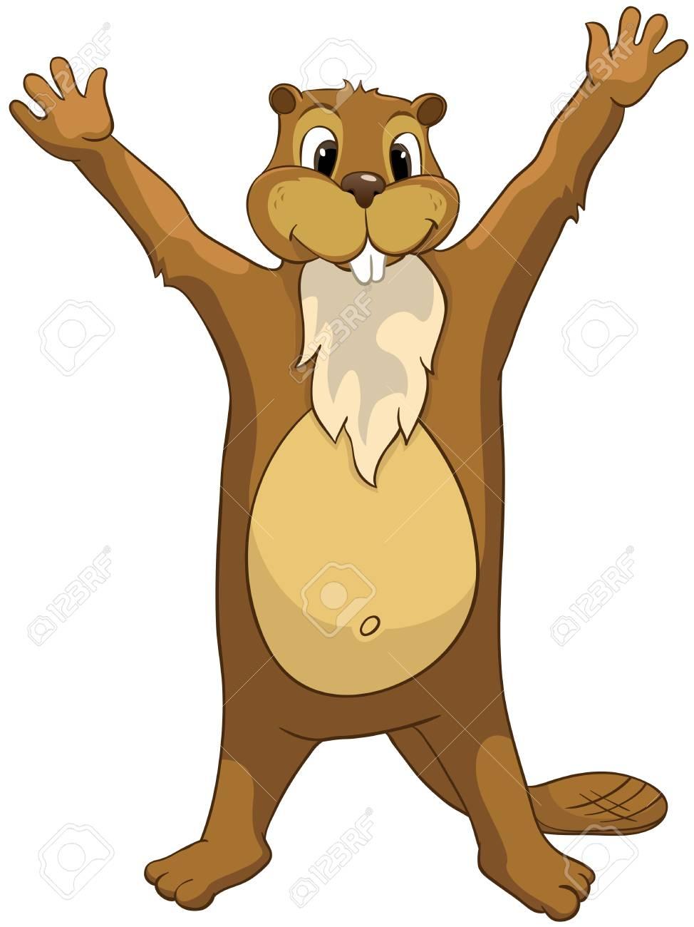 Beaver CREES Stock Vector - 12996718