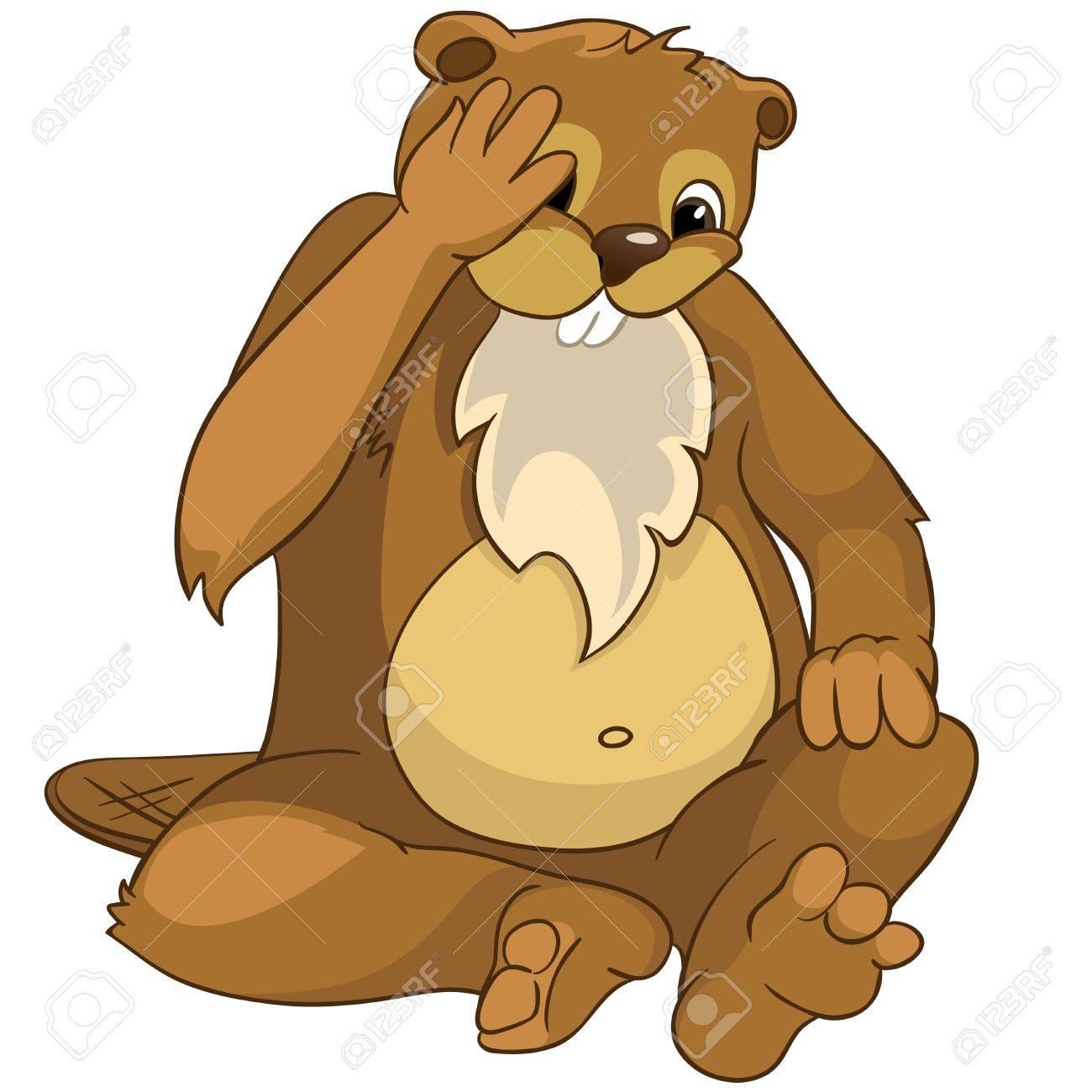 Beaver CREES Stock Photo - 13051377