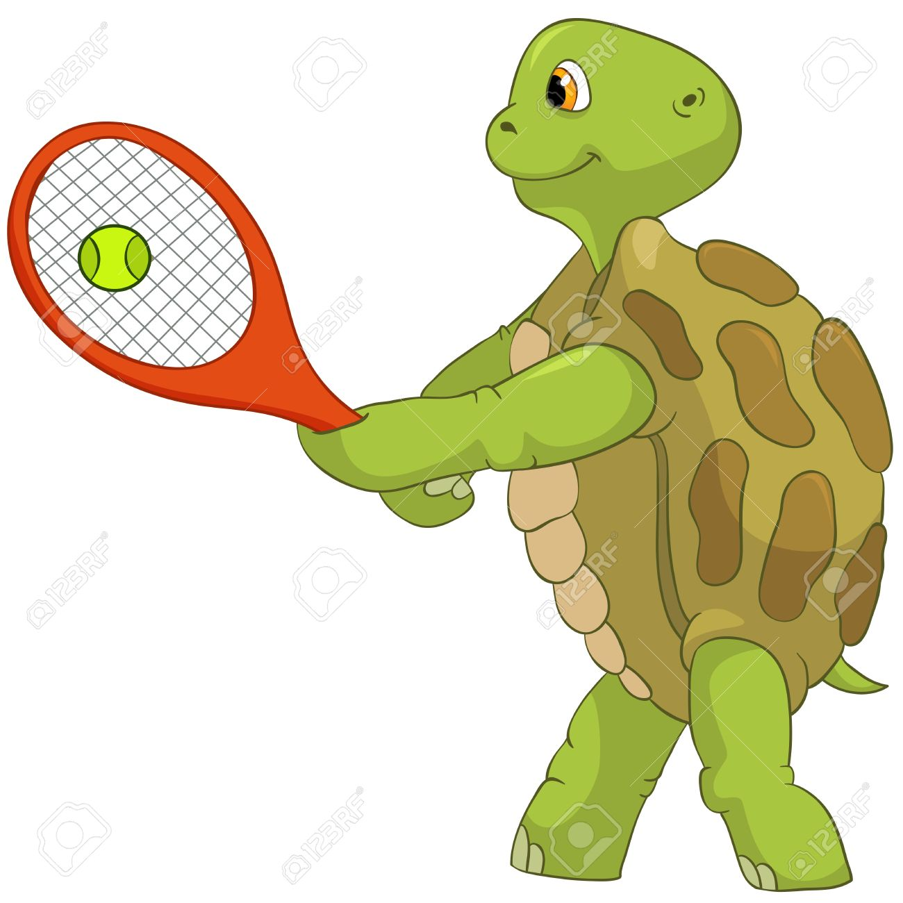 Tennis ball mascot stock photos tennis ball mascot stock photography - Tennis Ball Mascot Funny Turtle Tennis Player Stock Photo