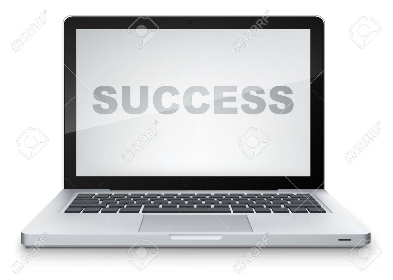 Laptop Stock Vector - 13533945