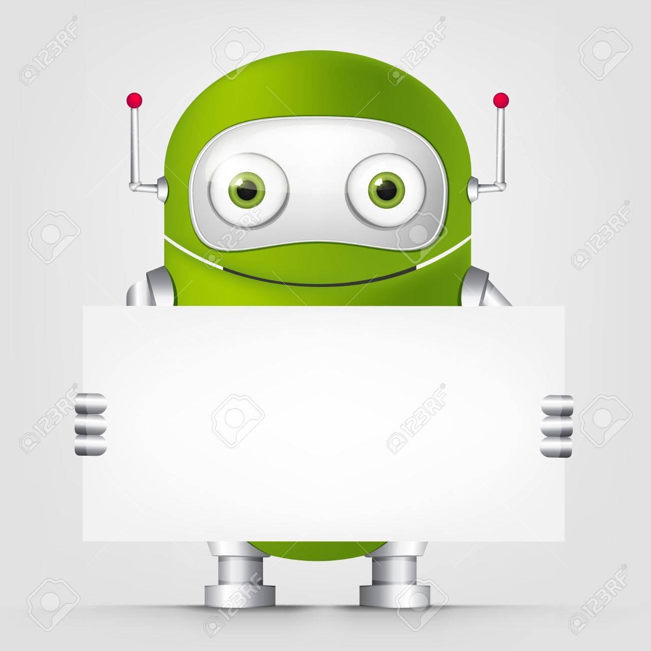 Cute Robot Stock Vector - 16065742