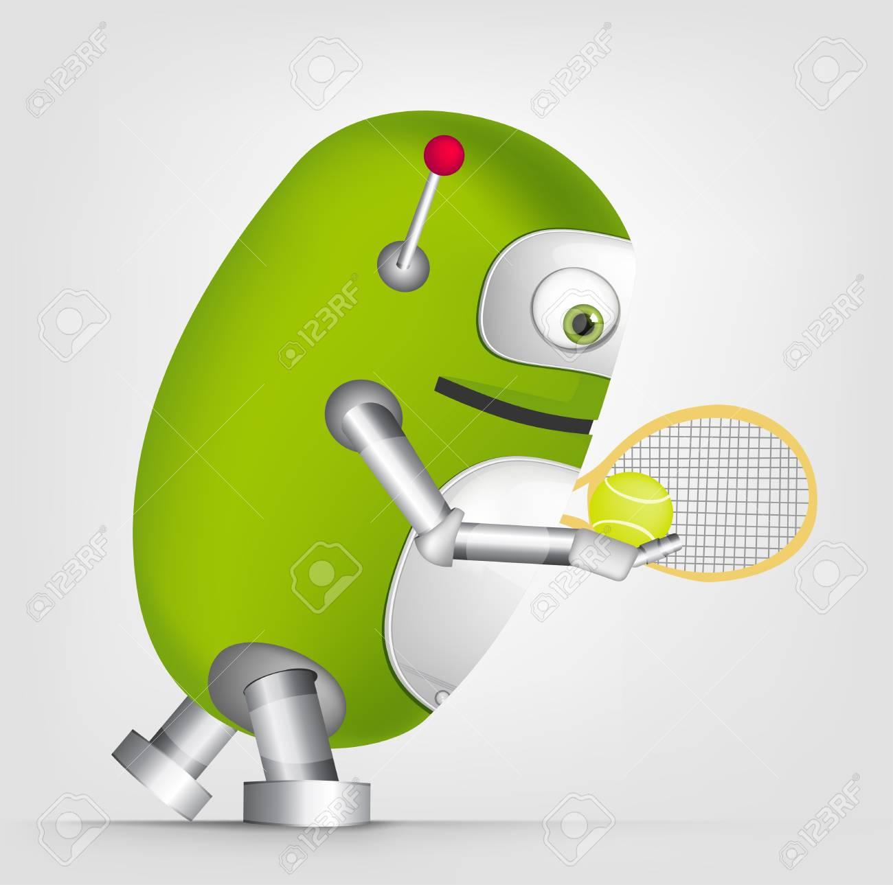 Cute Robot Stock Vector - 16065750