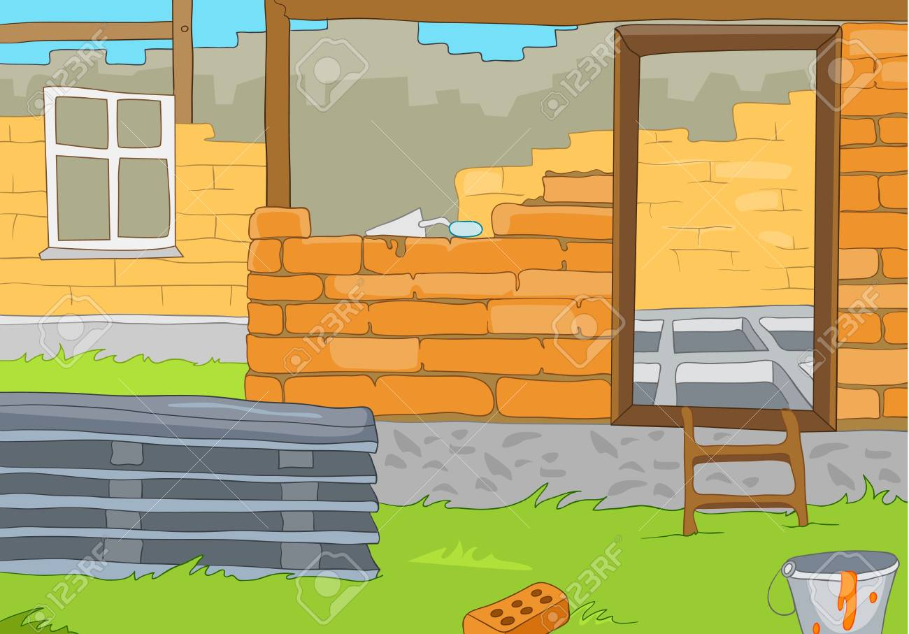 House Construction Stock Vector - 16419024