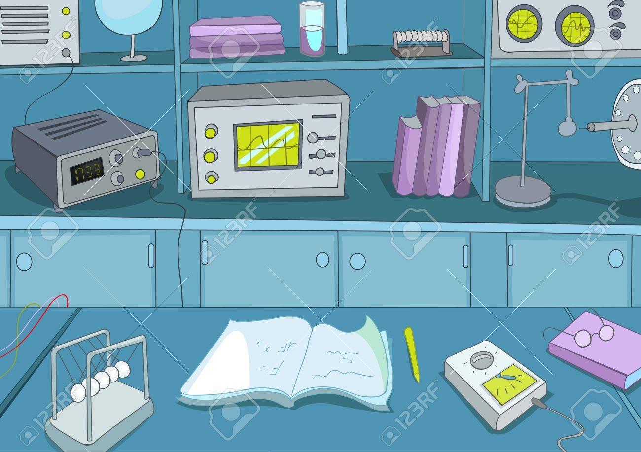 Physics Laboratory Stock Vector - 16419009