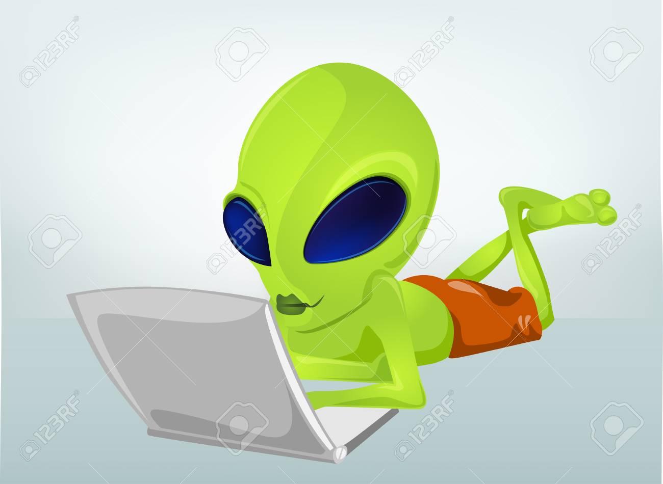 Alien Stock Vector - 16834256