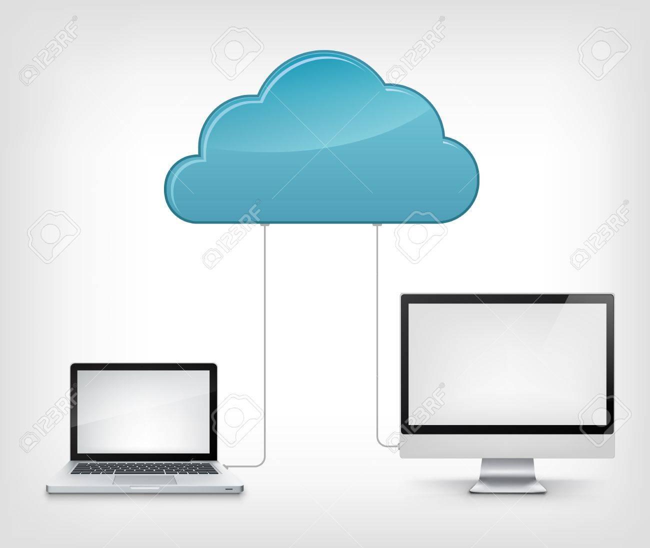 Cloud Service Stock Vector - 19454961