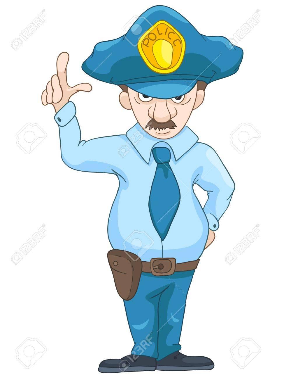 Policeman Stock Vector - 20633678