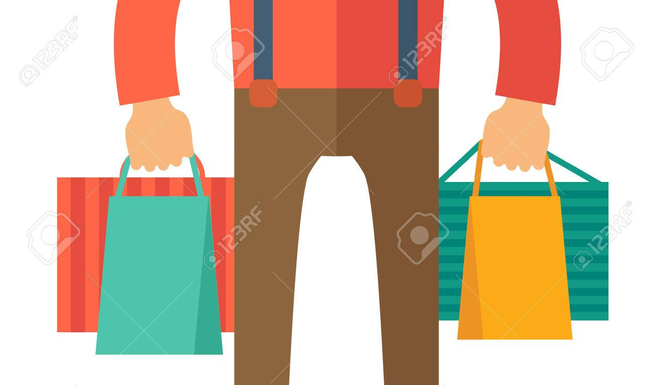 A Hand Carrying A Shopping Bag A Contemporary Style Vector Royalty Free Cliparts Vectors And Stock Illustration Image 39690208