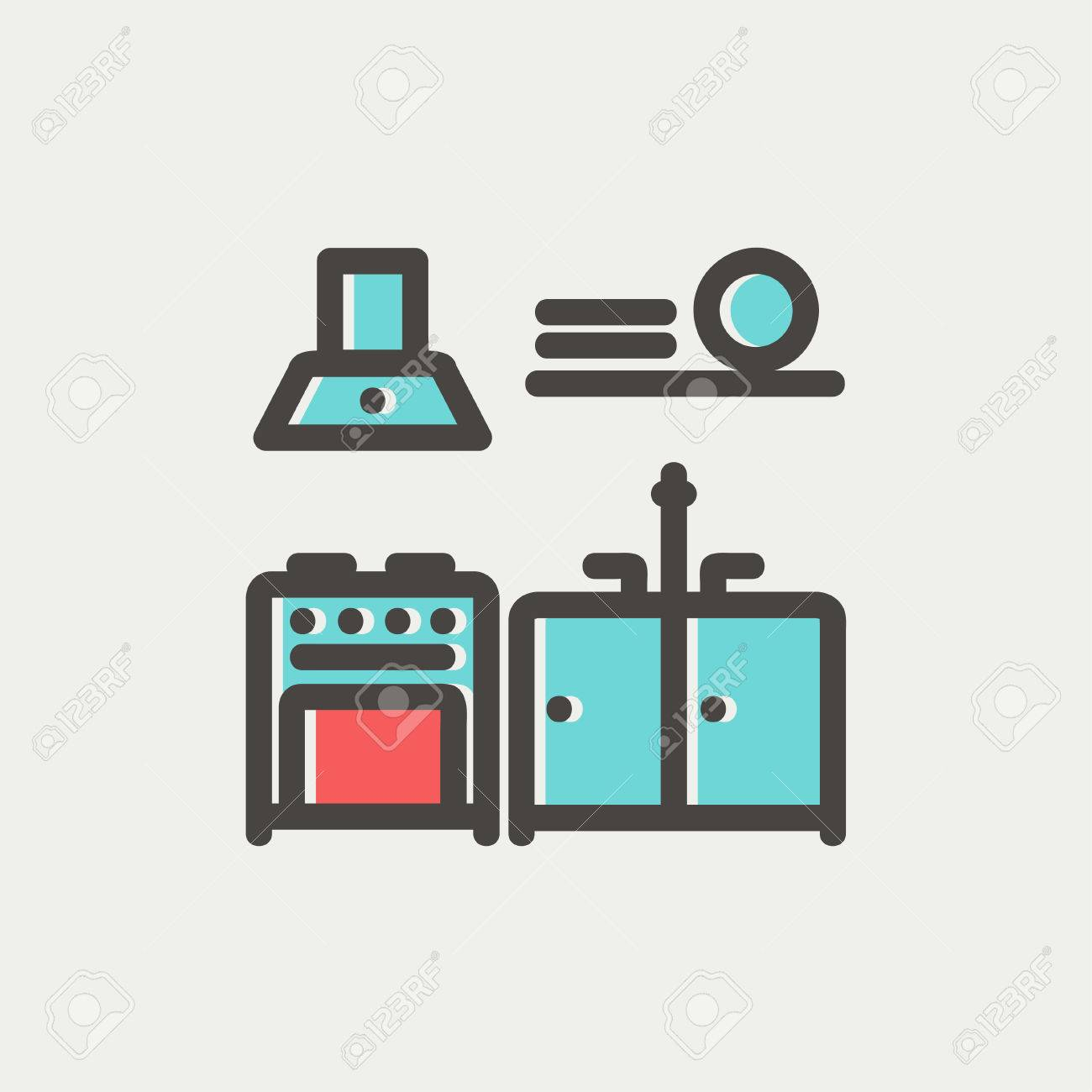 icon kitchen design. kitchen icon stock imagekitchen icon stock