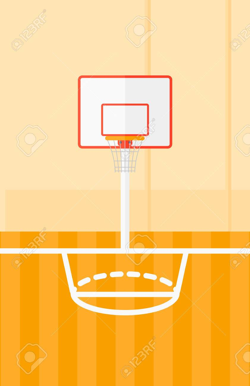 Background Of Basketball Court Vector Flat Design Illustration Royalty Free Cliparts Vectors And Stock Illustration Image 51505329