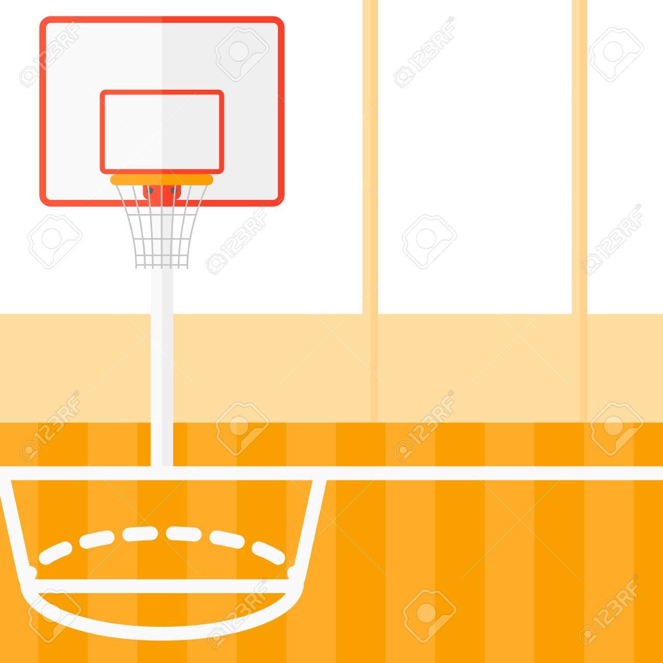 background of basketball court vector flat design illustration rh 123rf com basketball court vector free basketball court vector logo