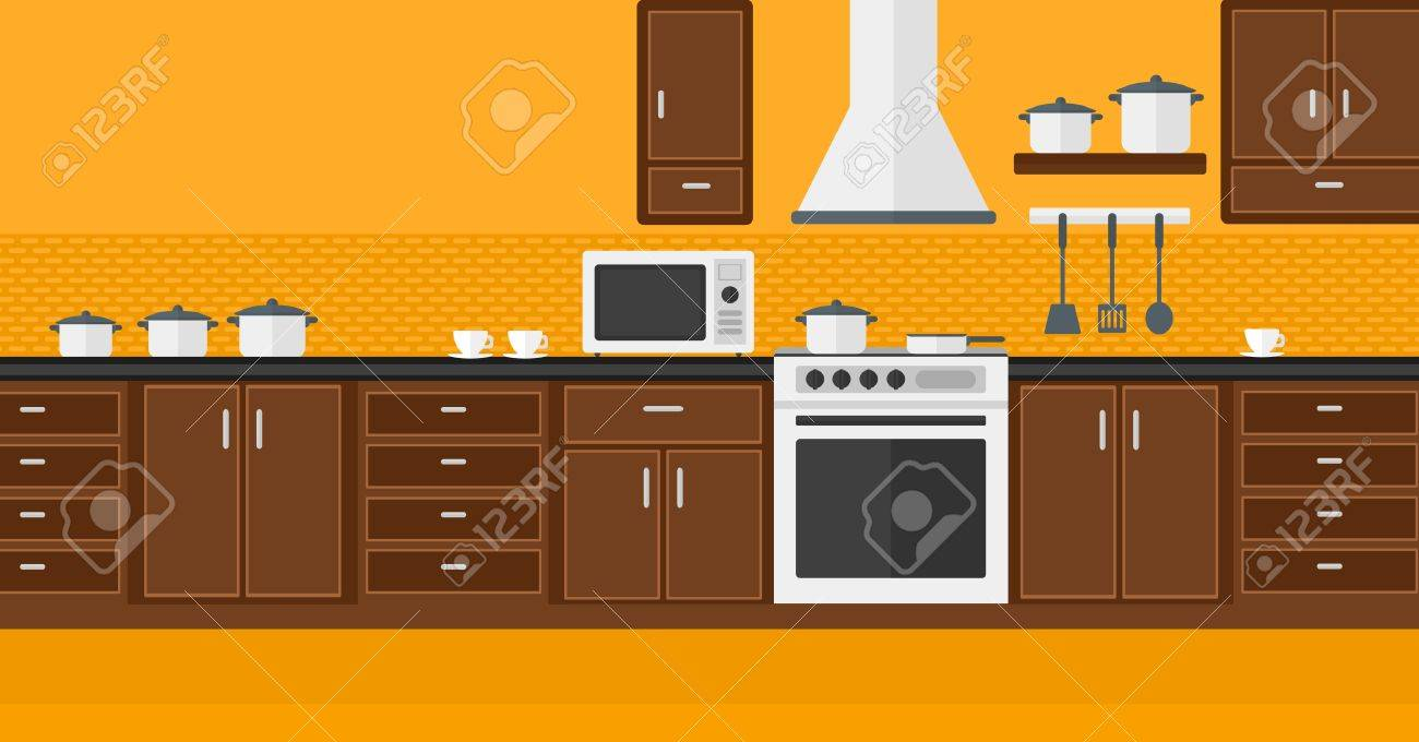 Background Of Kitchen With Appliances Vector Flat Design ... on mirror clipart, tv clipart, closet clipart, refrigerator clipart, kitchen house clipart, bed clipart, kitchen bowl clipart, kitchen appliances clipart, wood clipart, chair clipart, furniture clipart, window clipart, stove clipart, kitchen interior clipart, doors clipart, kitchen accessories clipart, bedroom clipart, kitchen island clipart, kitchen counter clipart, kitchen stand clipart,