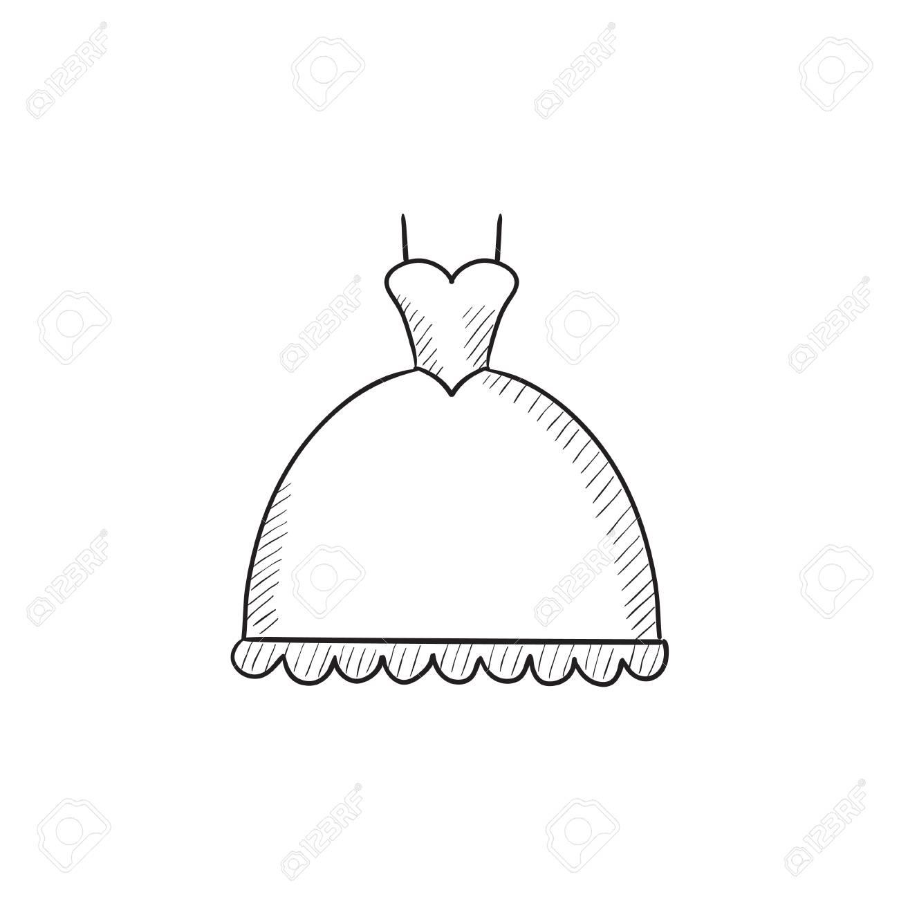 Good Wedding Dresses Drawn