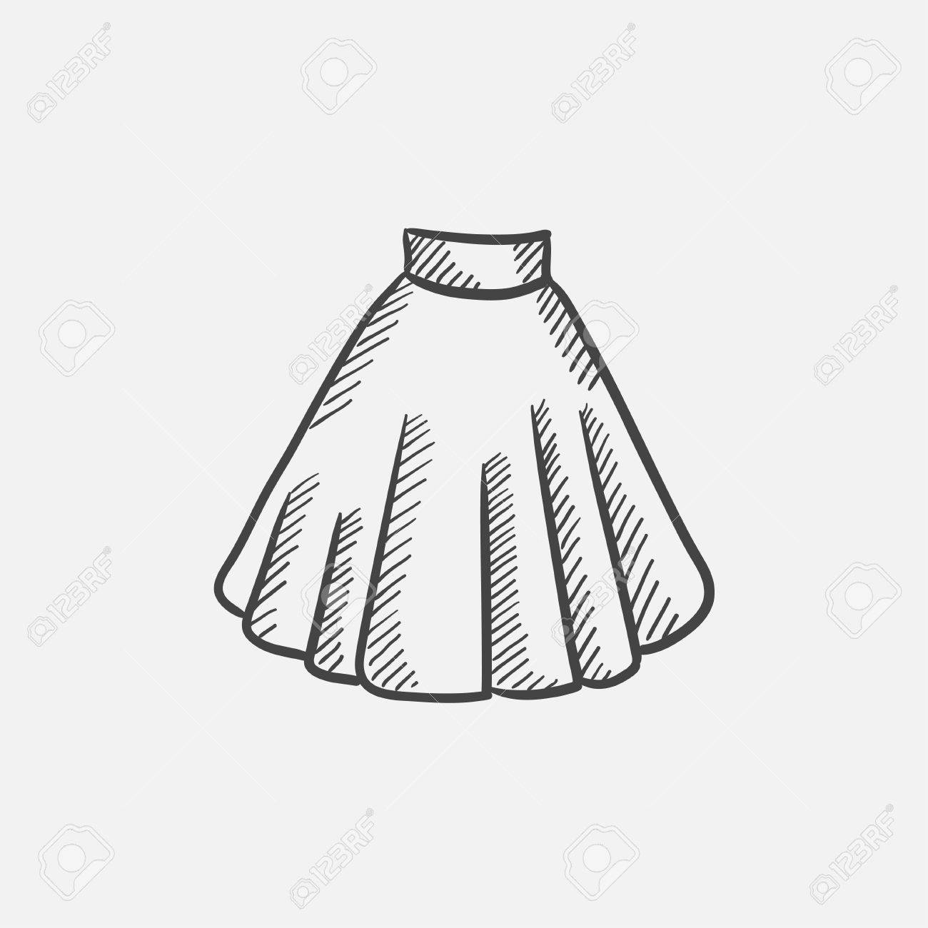 Skirt Drawing