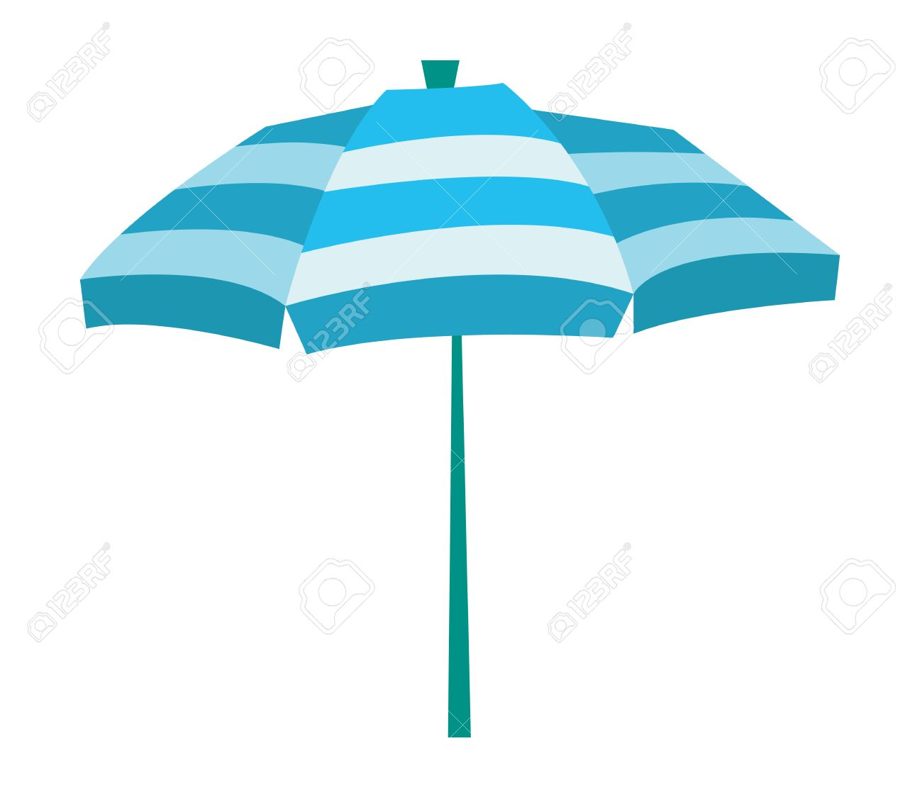 striped beach umbrella vector flat design illustration isolated rh 123rf com umbrella vector eps umbrella vector eps