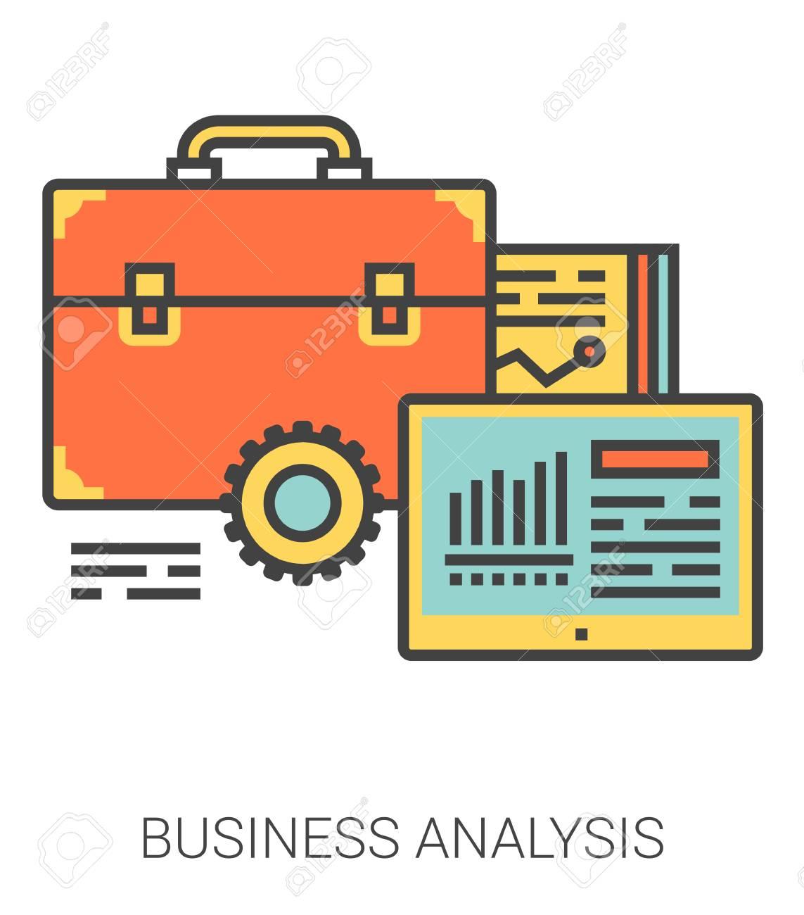 Metaphore D Infographie D Analyse Commerciale Avec Des Icones De