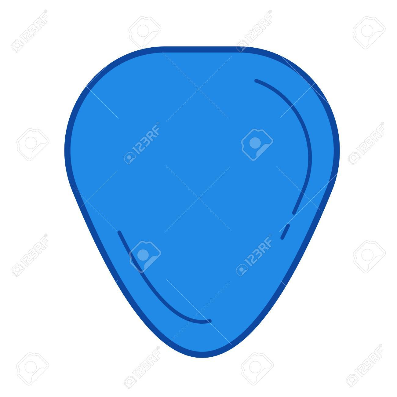 guitar pick vector line icon isolated on white background guitar rh 123rf com guitar pick vector art guitar pick vector free download
