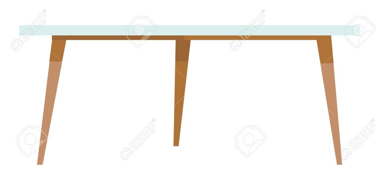 Et Illustration De Le Basse Mobilier La BlancPièce Blanc Sur Vecteur Isolé Maison Bois Fond Pour Bureau Dessin Animé Table ZTwOPkXiul