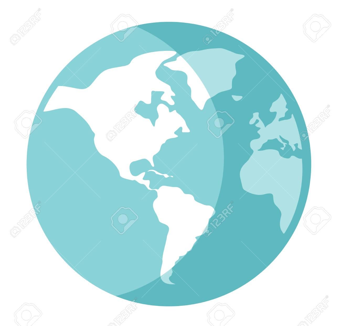world globe vector cartoon illustration isolated on white background rh 123rf com world globe vector art world globe vector free download