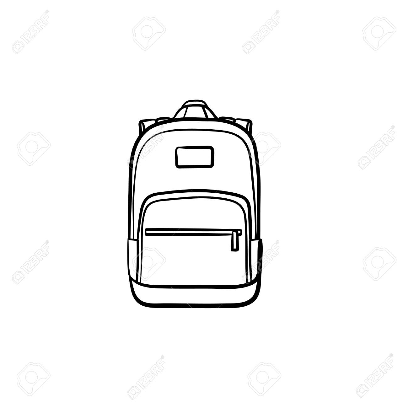 Bag clipart outline, Bag outline Transparent FREE for download on  WebStockReview 2020