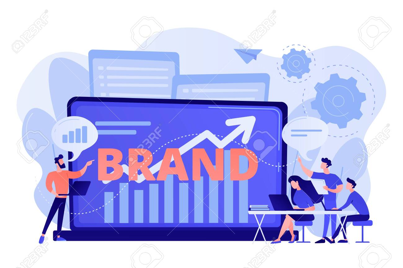 Marketing And Promotional Campaign. Brand Awareness Building... Royalty  Free Cliparts, Vectors, And Stock Illustration. Image 135751828.