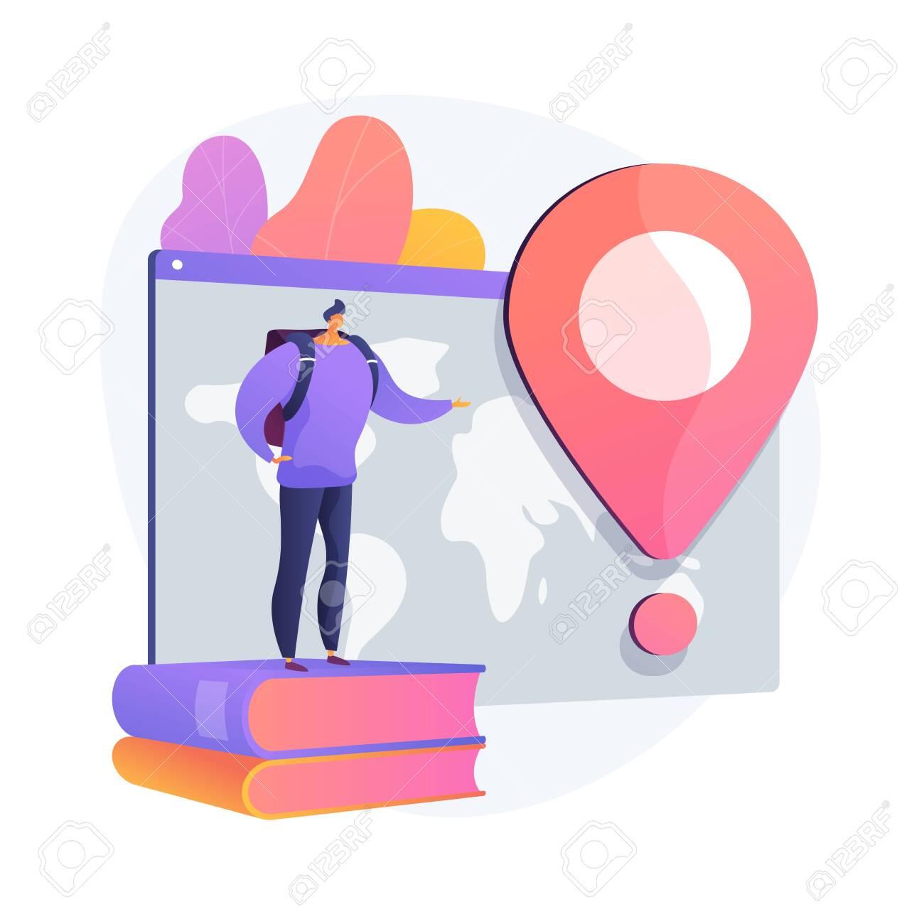 International tourism vector concept metaphor - 139004233