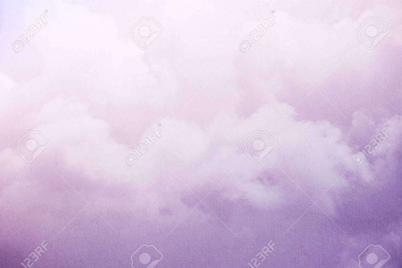 cloudy skay with pastel gradient color with grunge paper texture, nature abstract background - 80594125