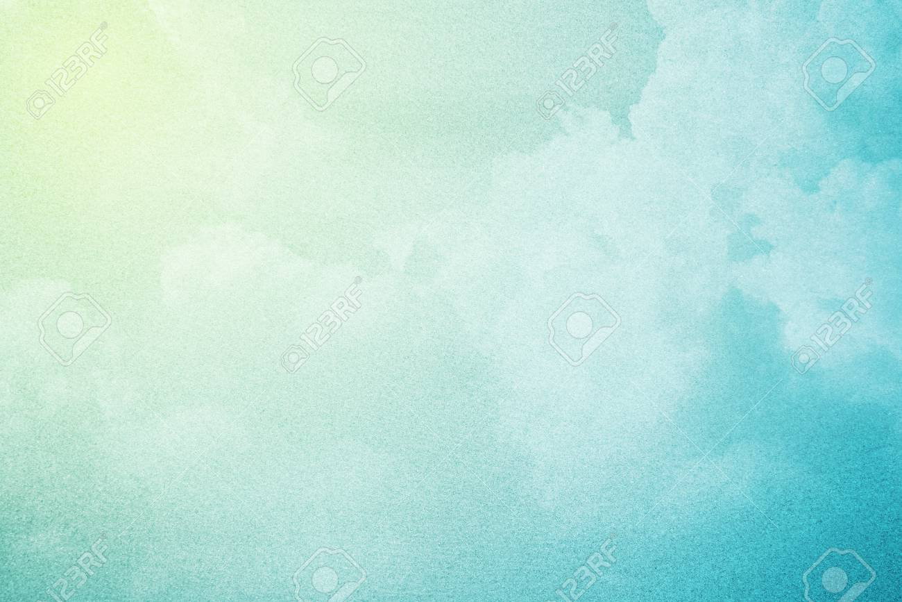 8bca4125f6 Artistic Cloudscape With Gradient Color And Grunge Texture
