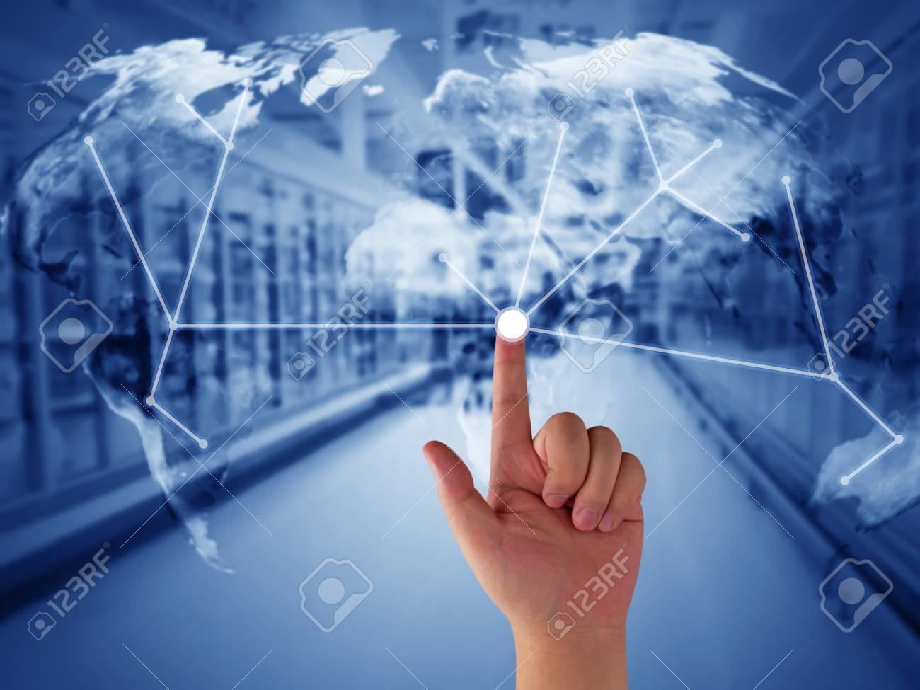 Red Comercial Global, Concepto De Gestión De La Cadena De Suministro ...