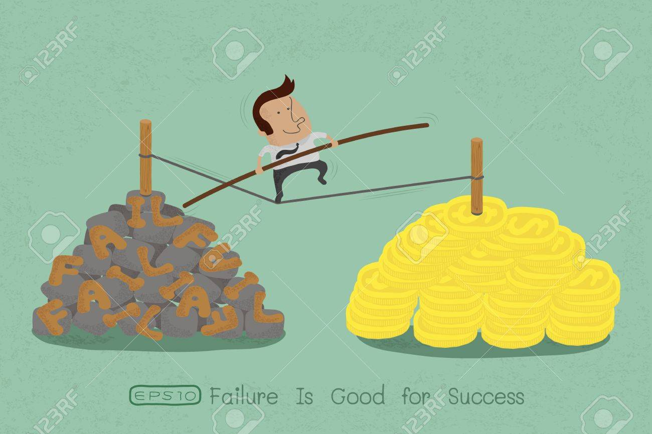risks and challenges in business to success , eps10 vector format Stock Vector - 19718265